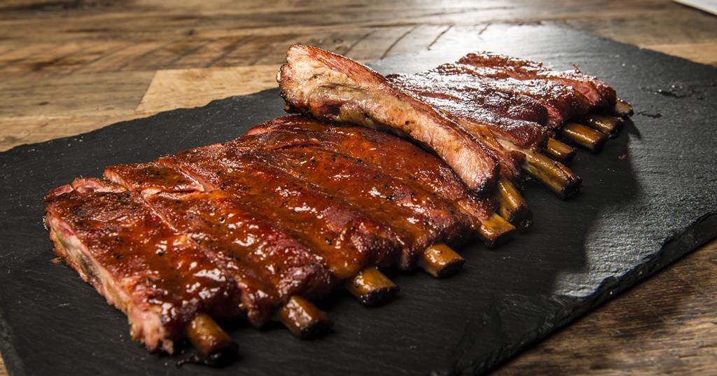 گوشت دنده سرخ شده