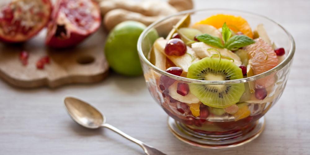 طرز تهیه سالاد میوه