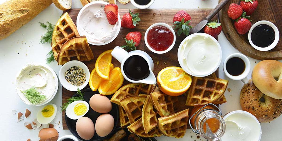 صبحانه ساده