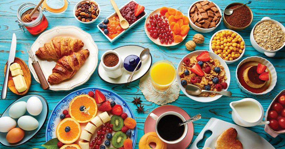 صبحانه در هتل