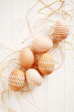 تخم مرغ هفت سین با طرح ارگانیک