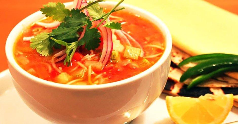 سوپ رشته فرنگی
