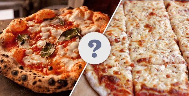 تفاوت پیتزا ایتالیایی و آمریکایی