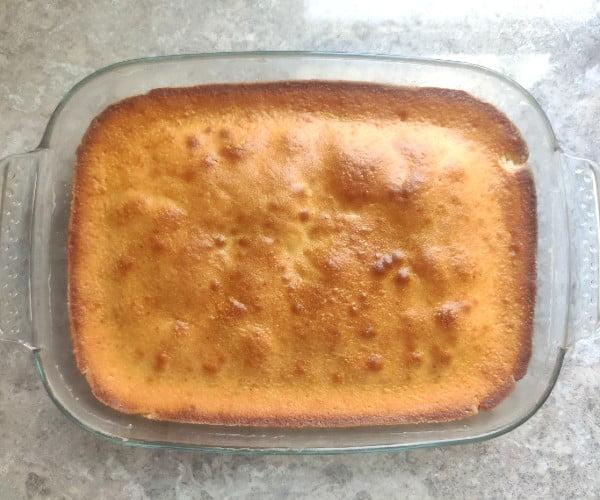 مرحله هفتم تهیه کیک باقلوا