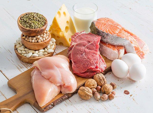 افزایش انرژی با پروتئین