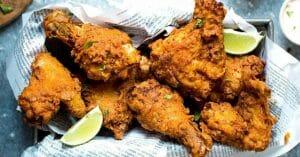 مرغ سوخاری بدون گلوتن