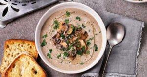 طرز تهیه سوپ قارچ رستورانی