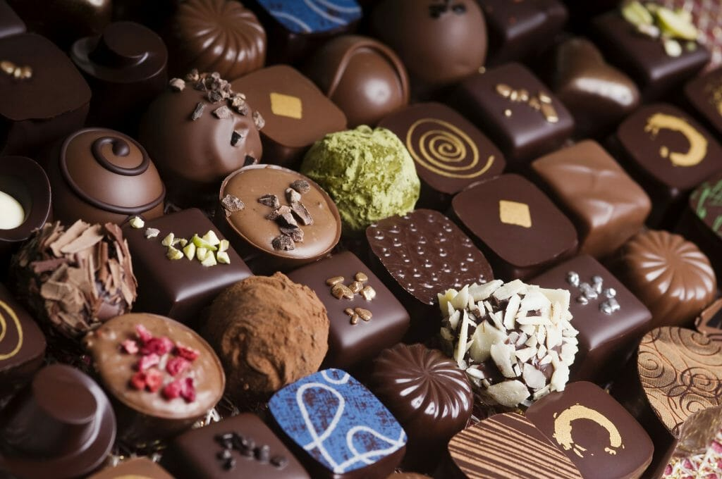 شکلات مرغوب