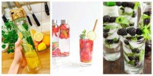 معرفی چند نوشیدنی دیتاکس برای مدرسه ایها