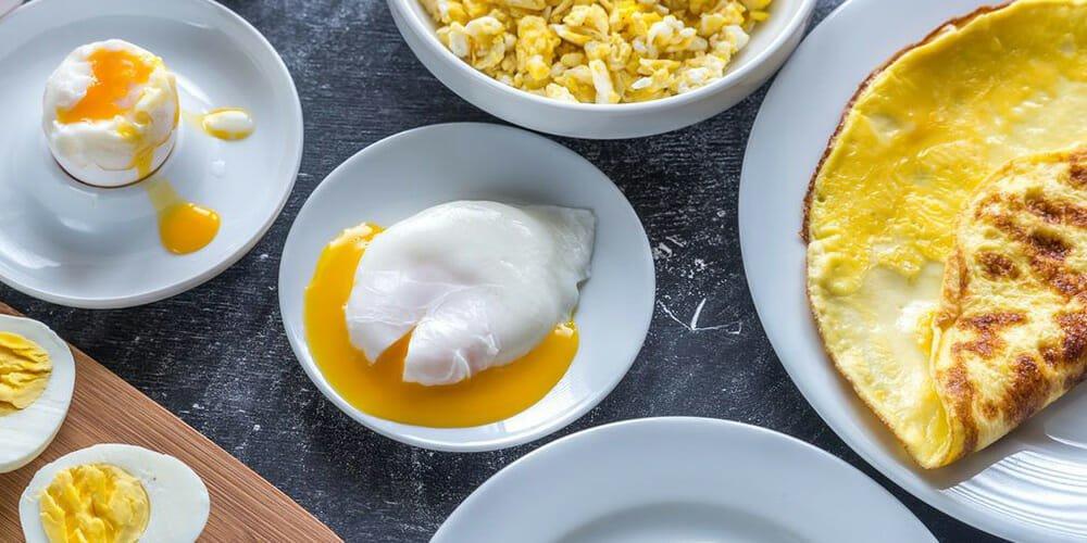 رازهای پخت تخم مرغ
