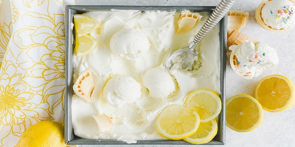 بستنی لیمویی