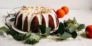 طرز تهیه کیک نارنگی پاییزی