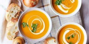 طرز تهیه سوپ کدوحلوایی مجلسی