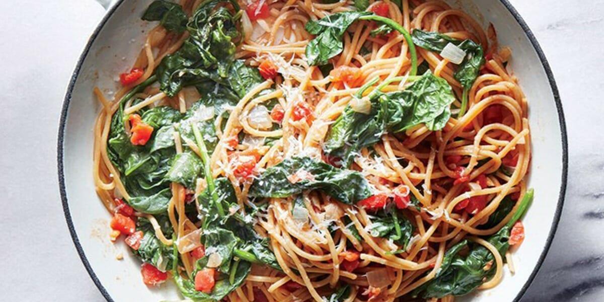 اسپاگتی اسفناج