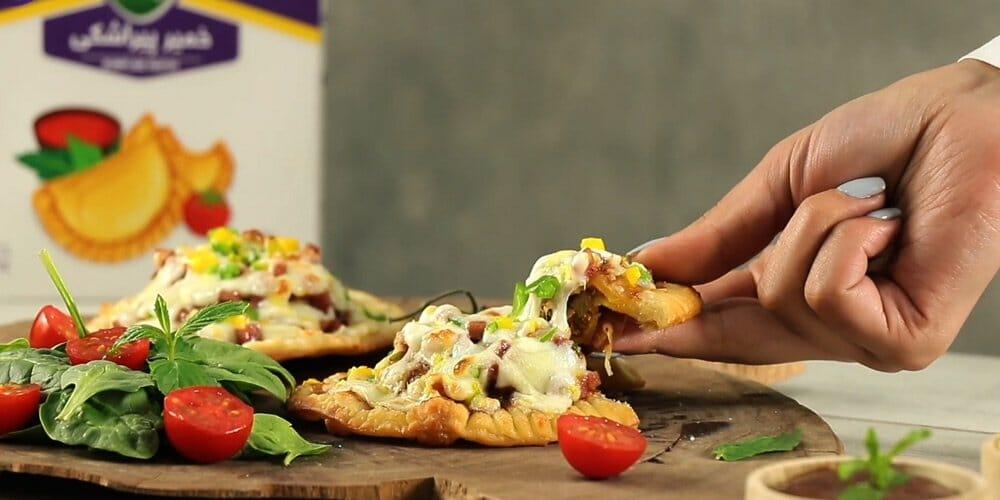 پیراشکی پیتزایی
