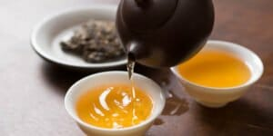 چای خرمالو