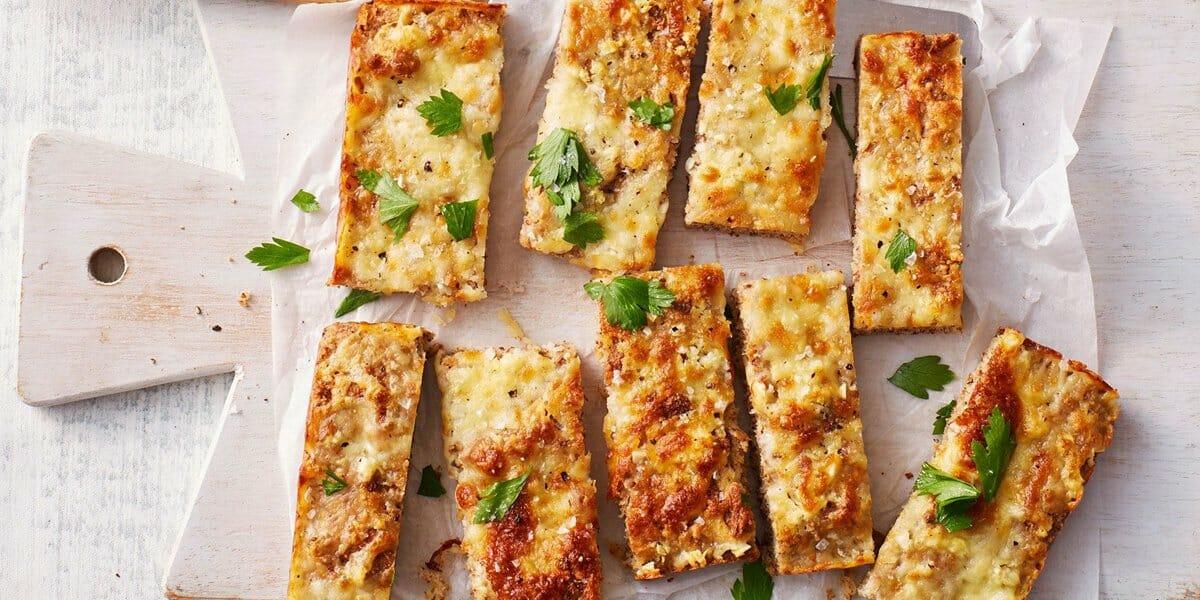 طرز تهیه نان سیر کتوژنیک
