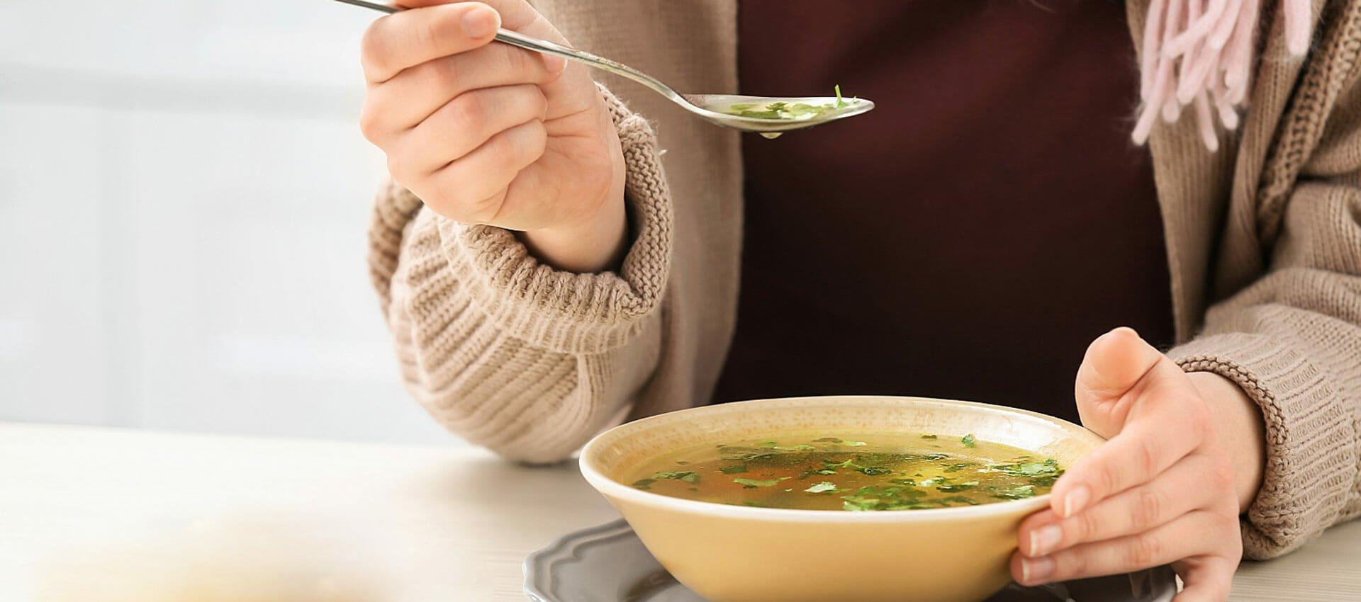 برای آنفولانزا چه بخوریم