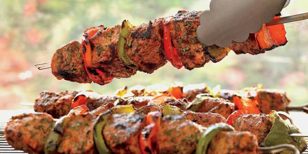 طرز تهیه کباب بره هندی