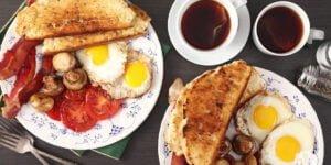 طرز تهیه بشقاب صبحانه ایرلندی