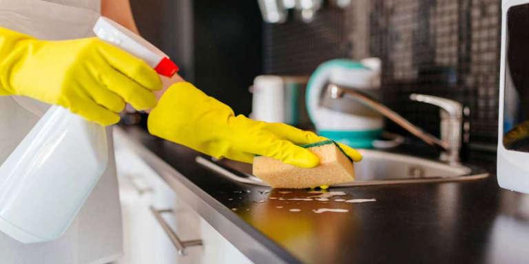 صفر تا صد تمیز کردن خانه