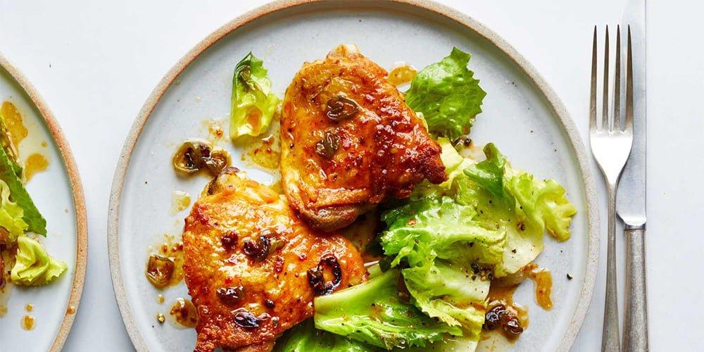 طرز تهیه خوراک مرغ عسلی طعمدار و خوشمزه