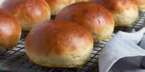 طرز تهیه نان برگر خانگی