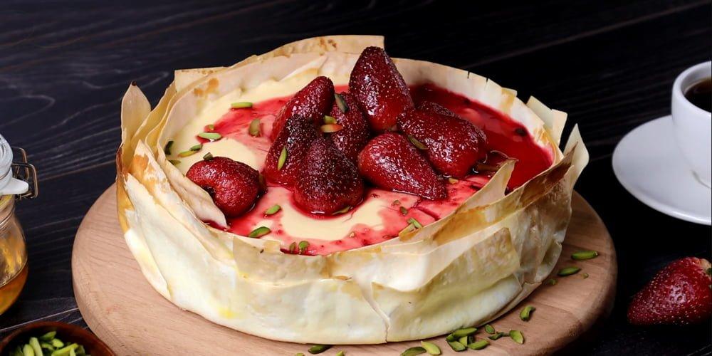 چیز کیک ترکی