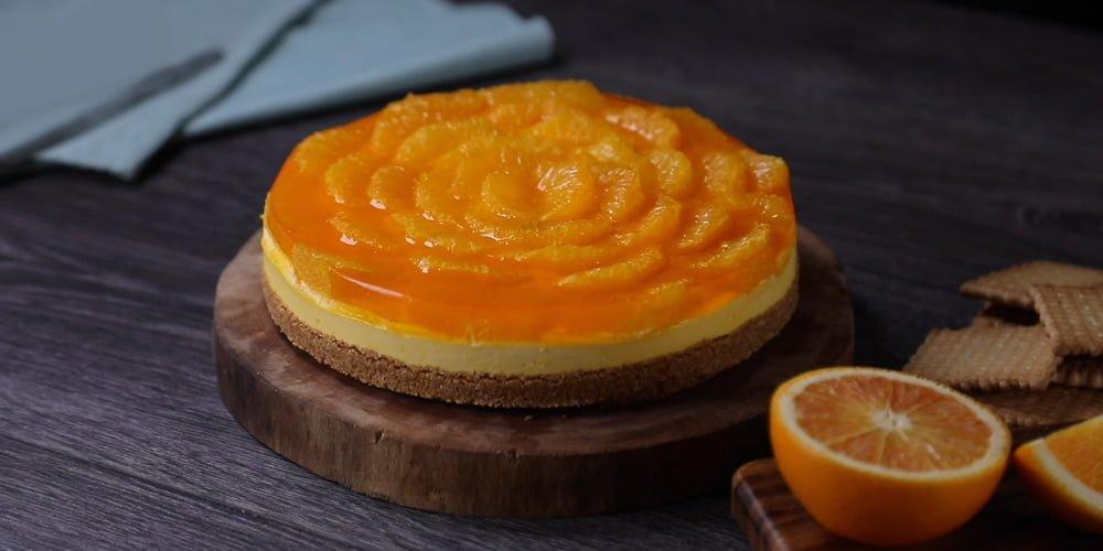چیزکیک پرتقال