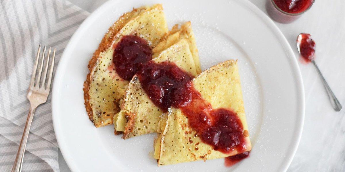 طرز تهیه پنکیک صبحانه سوئدی