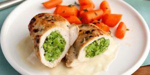 طرز تهیه مرغ خوشمزه برای مهمانی با فیلینگ مخصوص