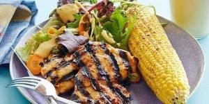 طرز تهیه مرغ کبابی تند و شیرین
