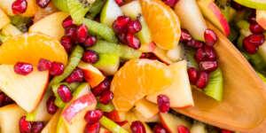 طرز تهیه سالاد میوه ساده