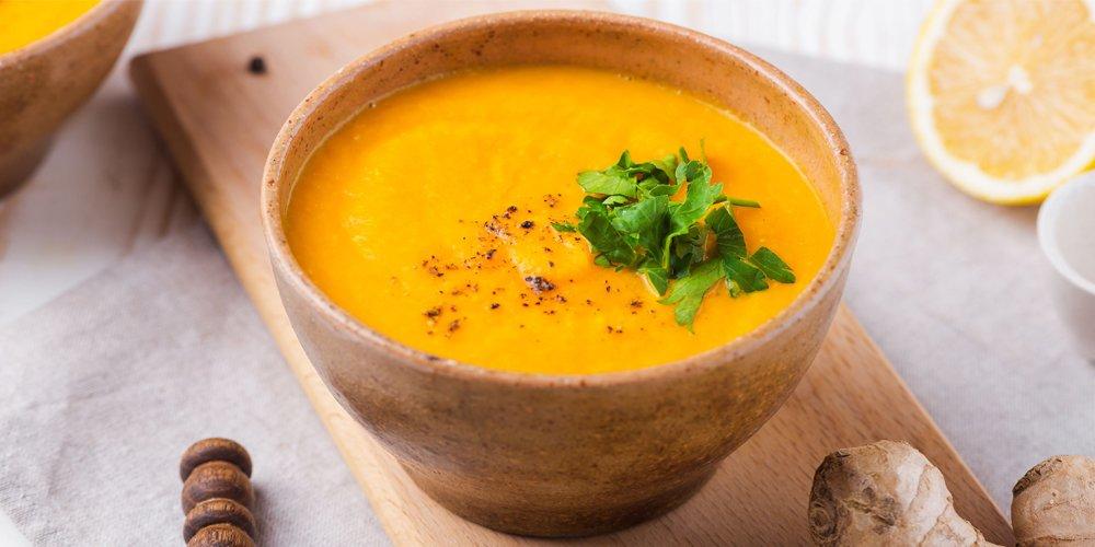 طرز تهیه سوپ هویج بهاری