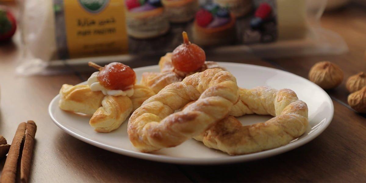 تهیه سه مدل شیرینی با خمیرهزارلای پمینا