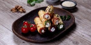 طرز تهیه فینگرفود با خمیر یوفکا یا هزارلا