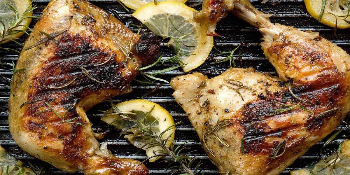 طرز تهیه مرینیت رزماری لیمو برای نرم کردن و مزه دار کردن گوشت