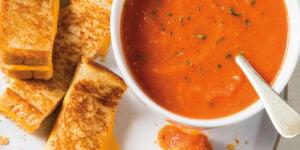 طرز تهیه سوپ مقوی گوجه فرنگی