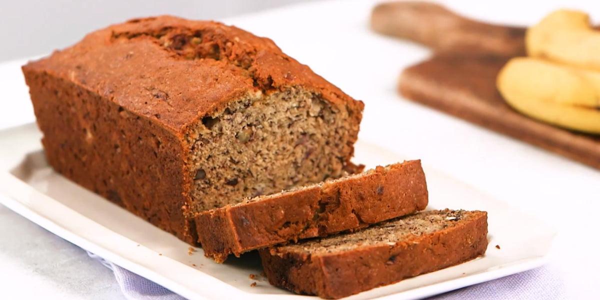 طرز تهیه نان موزی