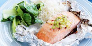 ماهی سالمون خوشمزه