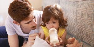 مصرف شیر گاو برای کودک