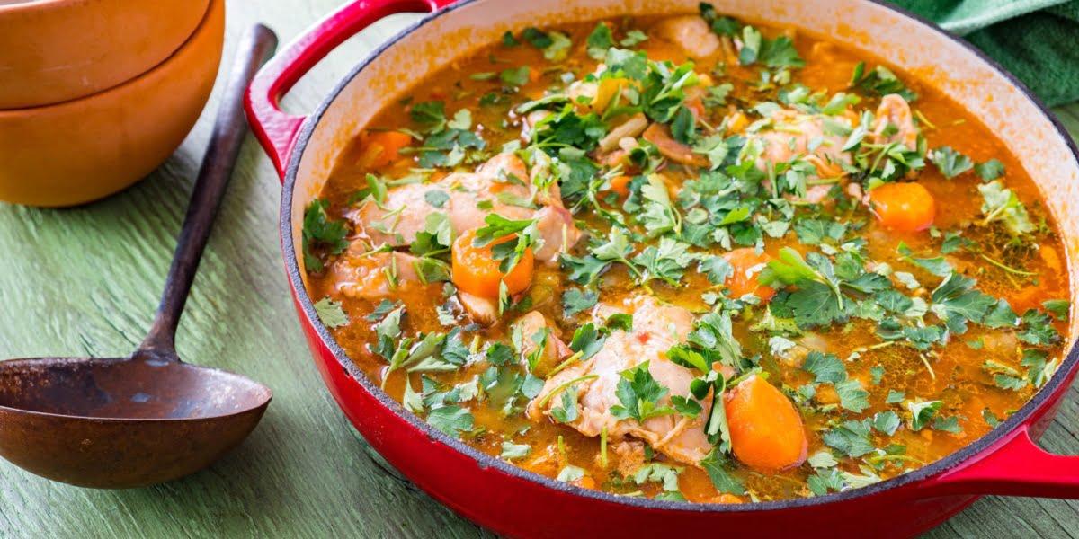 سوپ مقوی مرغ