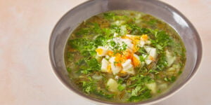 سوپ ترشک