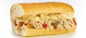 ساندویچ استیک مرغ