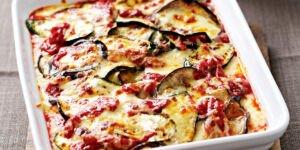 طرز تهیه گراتن بادمجان و پنیر پارمسان