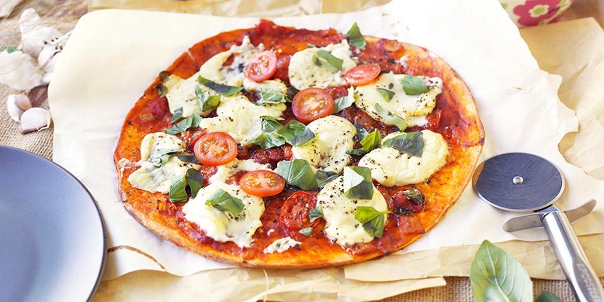 پیتزا گیاهی