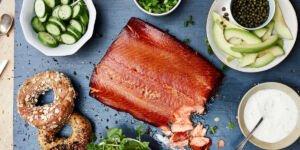 طرز تهیه ماهی سالمون دودی