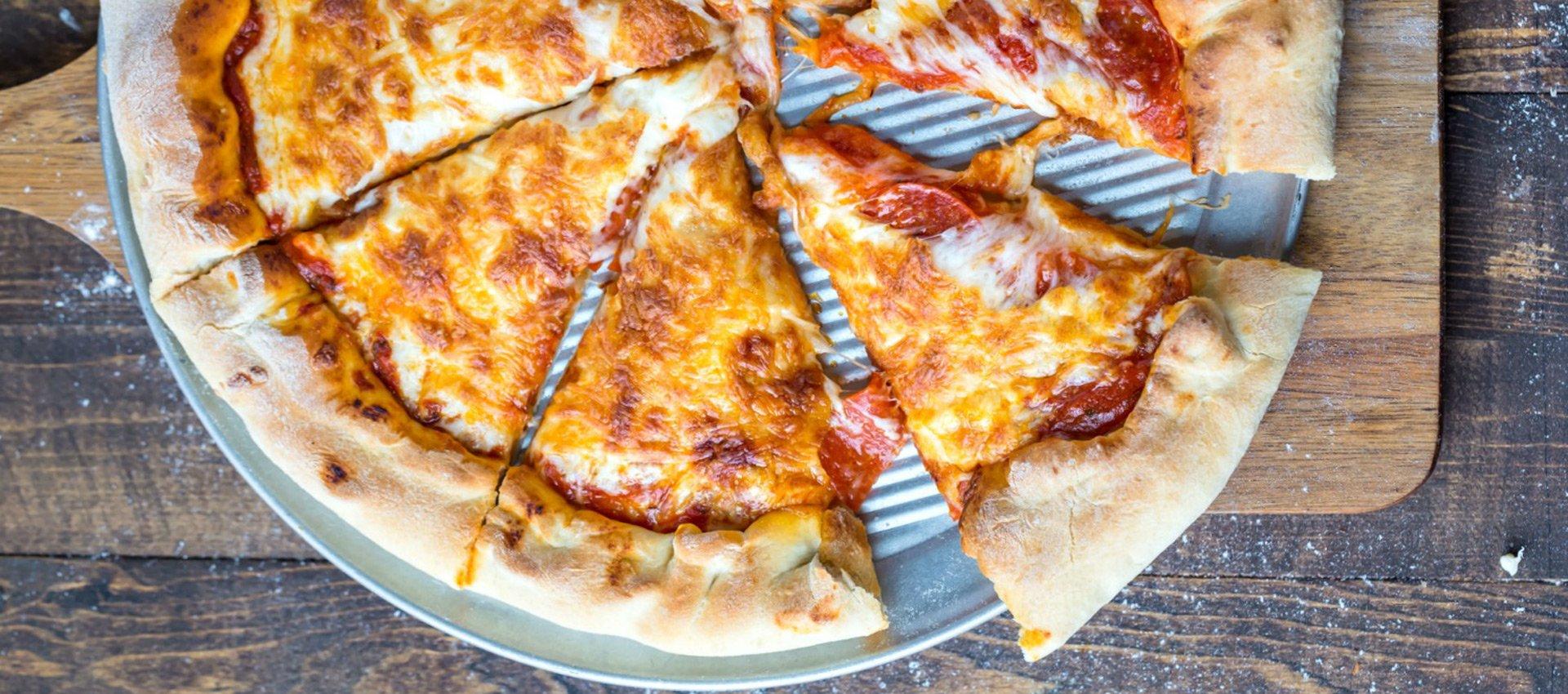 پیتزا ساده