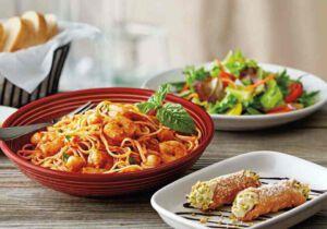 اسپاگتی با پنیر رومانو