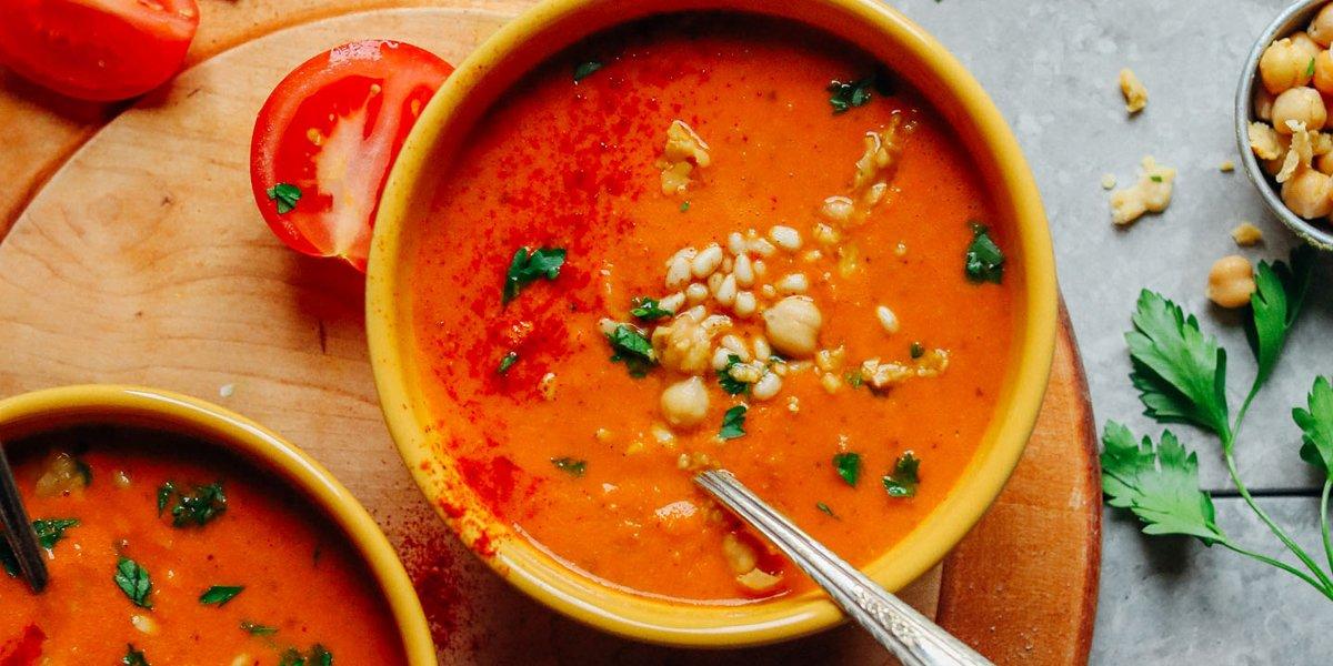 طرز تهیه سوپ فلفل